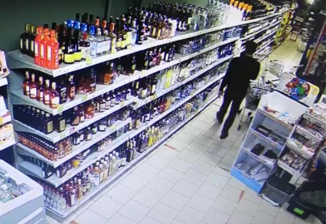 алкоголь в магазине