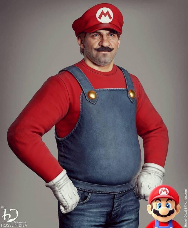 Реалистичный Марио