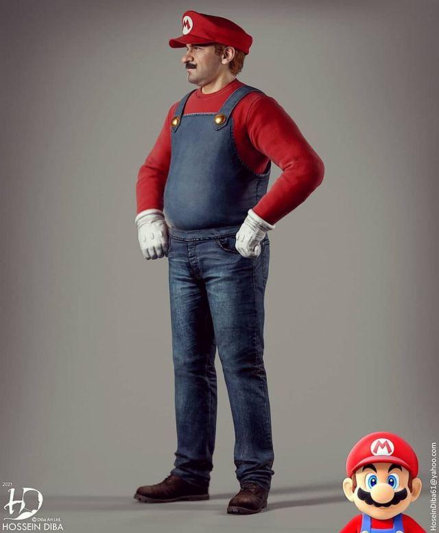 Супер Марио в графике NextGen