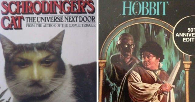 Подборка странных и забавных книжных обложек
