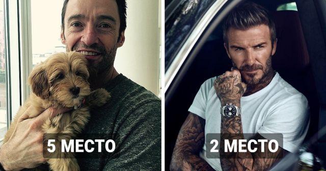 Британское издание провело опрос: самые красивые мужчины в возрасте от 40 лет и старше