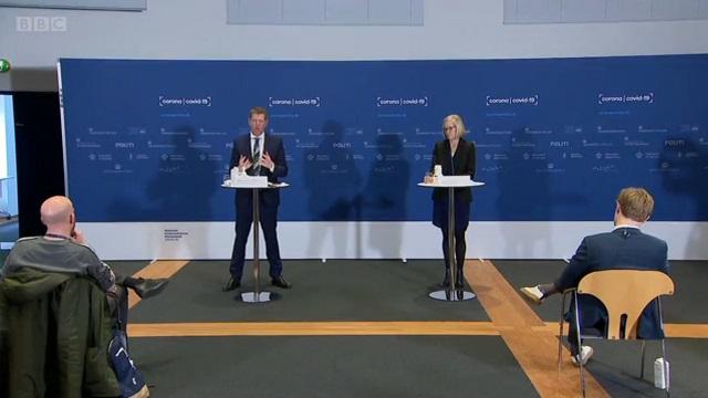 Пресс-конференция в Дании