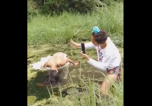 фотосессия на болоте