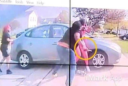 У 16-летней девушки в руках был нож