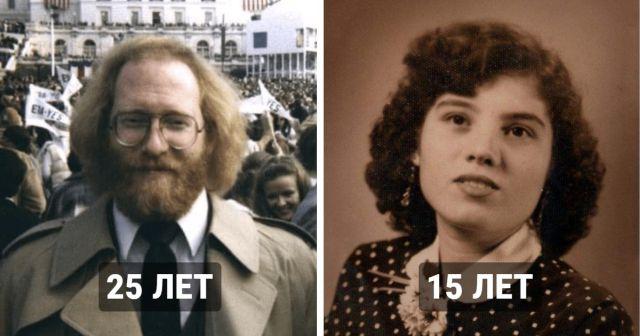 Фотодоказательства того, что раньше люди взрослели гораздо раньше, чем сегодня