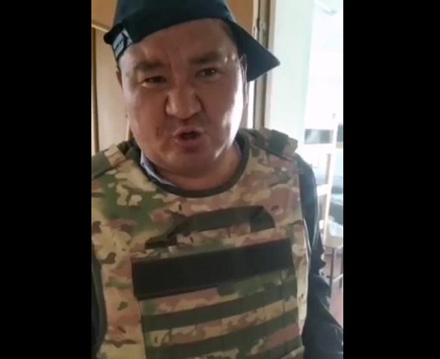 киргизский военный