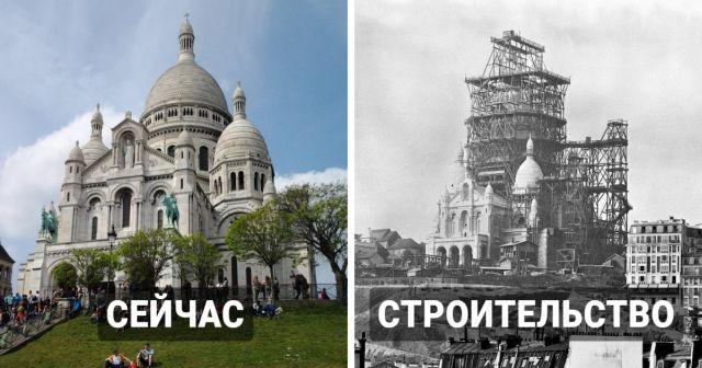 Знаменитые сооружение сейчас и в процессе строительства