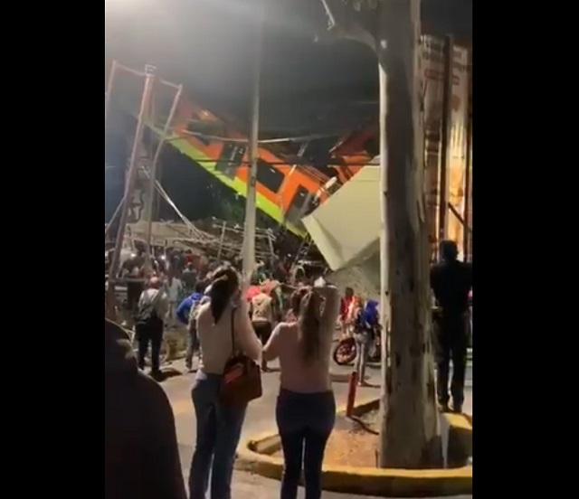 крушение моста в мехико