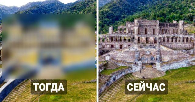 Дизайнеры восстановили внешний облик разрушенных дворцов прошлого