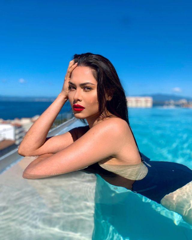 Победительница Мисс Вселенная Андреа Меса