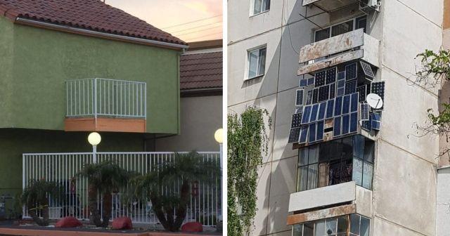 Подборка очень странных балконов