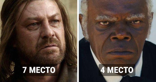 Актеры, чьи киноперсонажи чаще всего умирали на экране