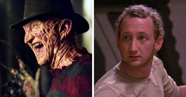 Актеры,  известные по ролям монстров, в фильмах,  в которых они сыграли простых людей
