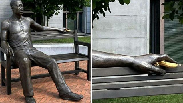 Статуя Джорджу Флойду