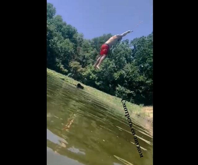 фейл на озере