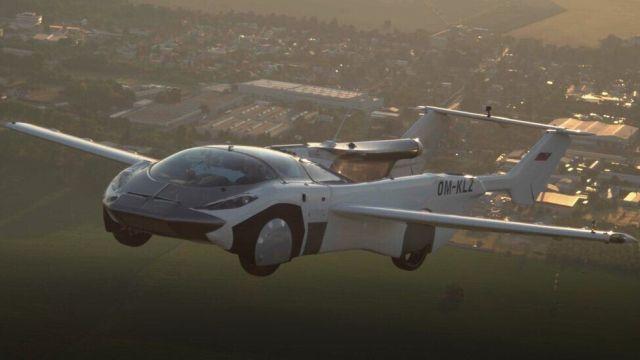 Aircar в воздухе