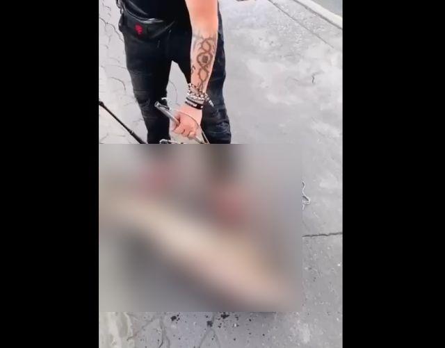 В Москве парень выловил толстолобика на Бережковской набережной