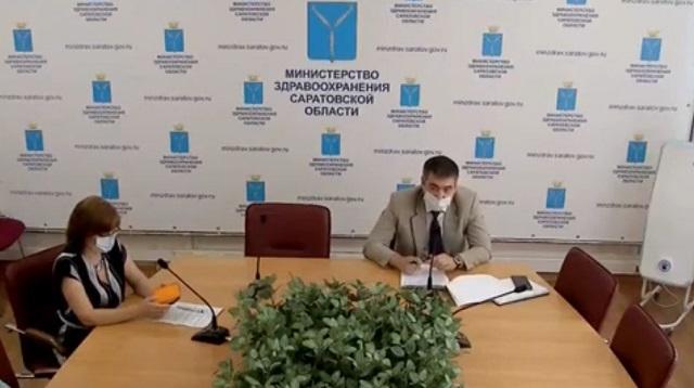 Замглавы Минздрава Саратовской области Денис Грайфер