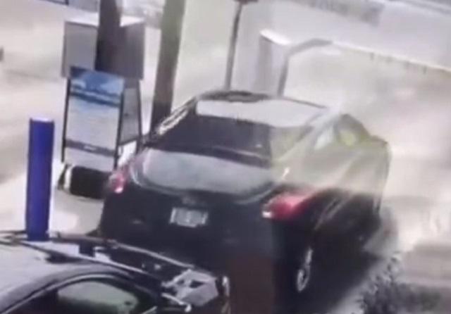 авария автоледи
