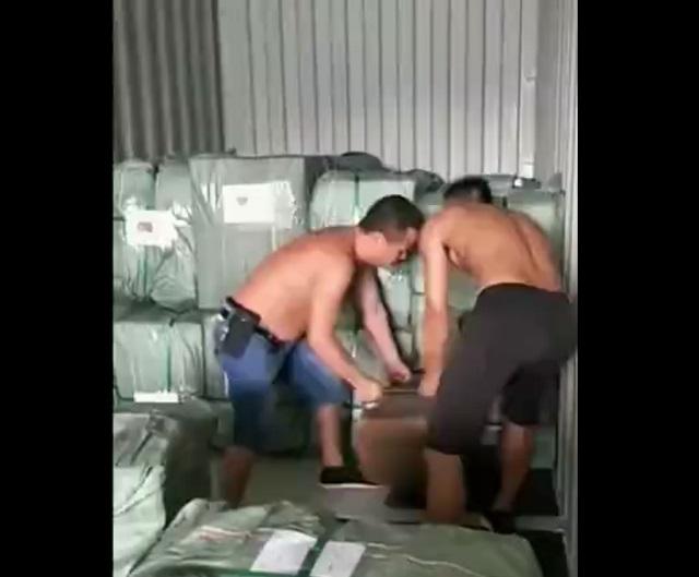 китайские грузчики