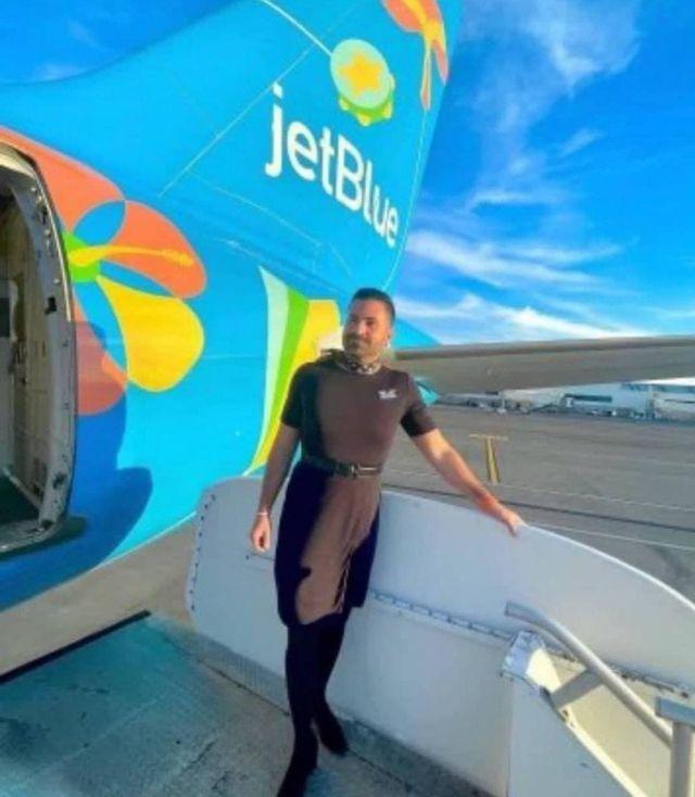 Бортпроводник американской авиакомпании Jet Blue Airlines