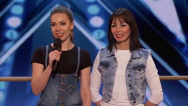Девушки на американском шоу талантов