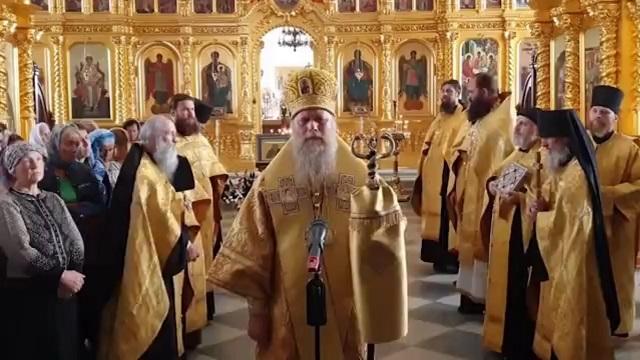 Наместник Соловецкого монастыря епископ Озерский Порфирий