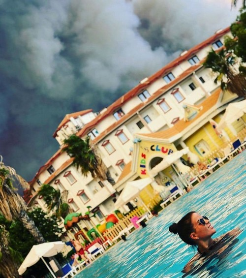 Лесные пожары в Турции угрожают туристическому сезону (2 фото + 5 видео)