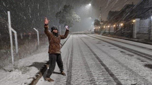 На юге Бразилии выпал снег