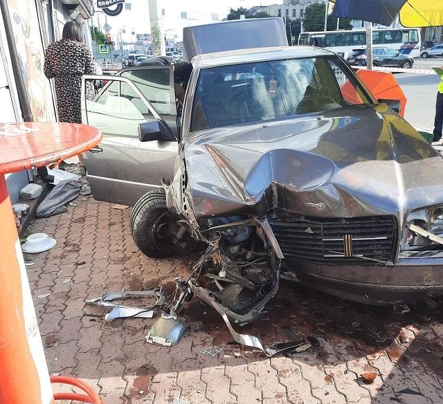 Авария в Калининграде