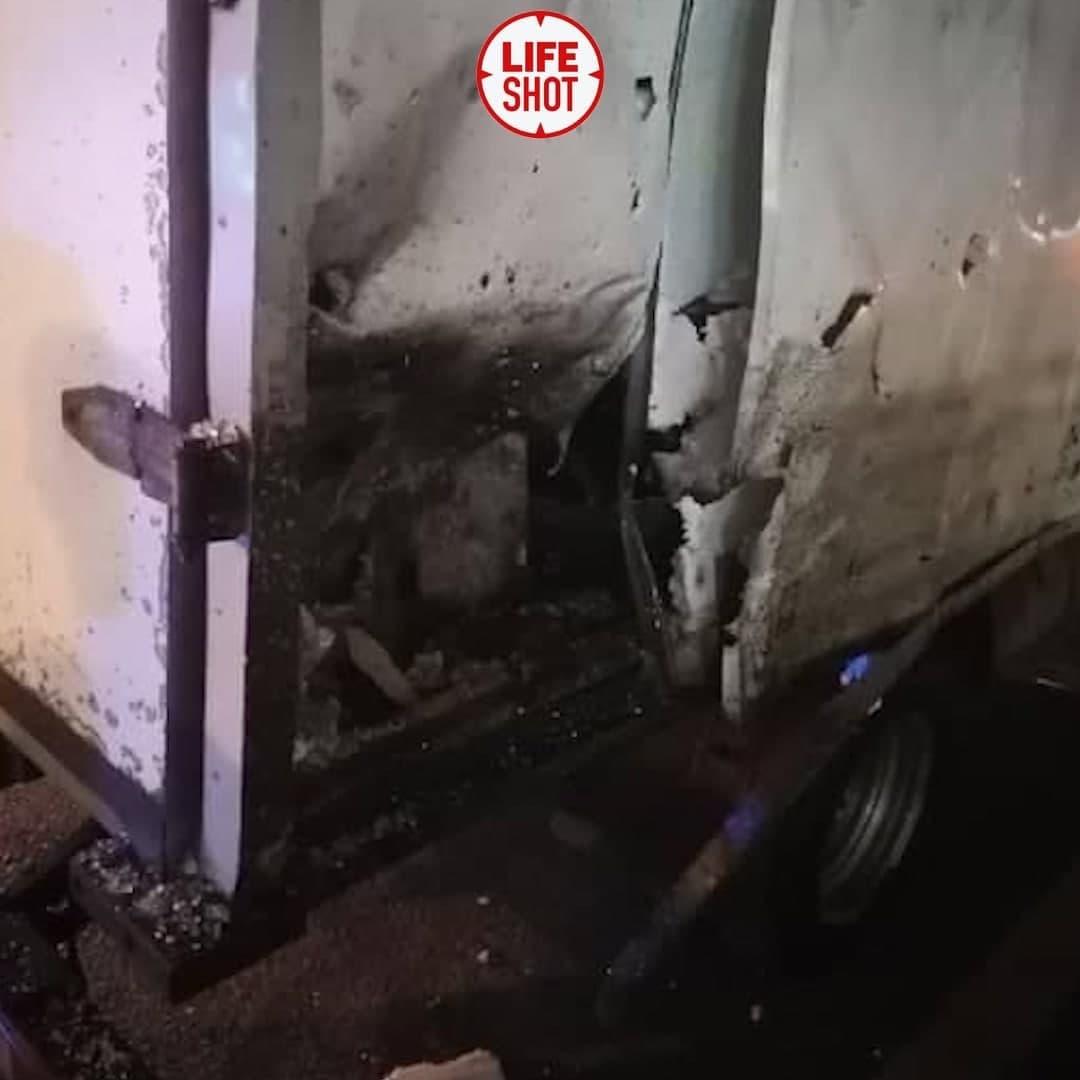 В Воронеже взорвался автобус с пассажирами (2 фото + 6 видео)