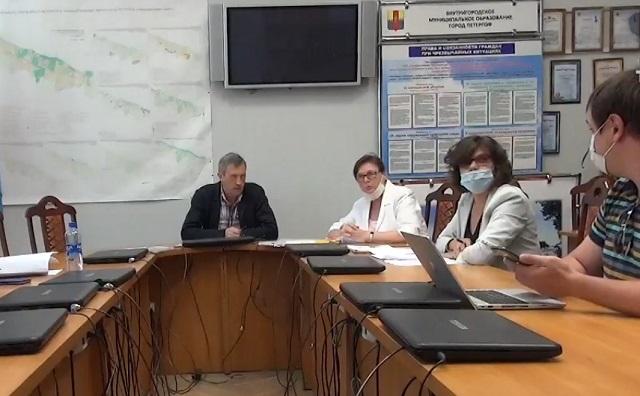 Заседание Комитета по культуре в Петергофе