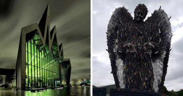 Интересные здания со зловещей архитектурой
