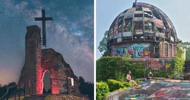 Подборка атмосферных фотографий заброшенных мест