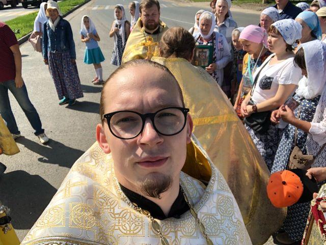 Священник Роман Степанов из Новочебоксарска