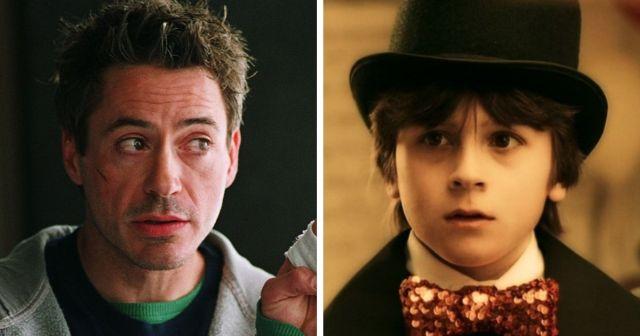Фильмы, в которых актеры и их собственные дети играли одних и тех же персонажей в разном возрасте