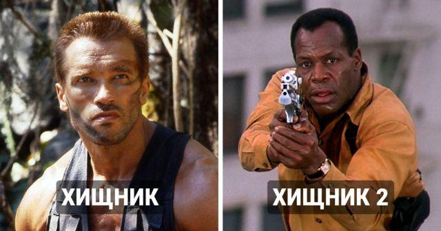 Продолжения фильмов, в которых выбрали новых актеров на главные роли