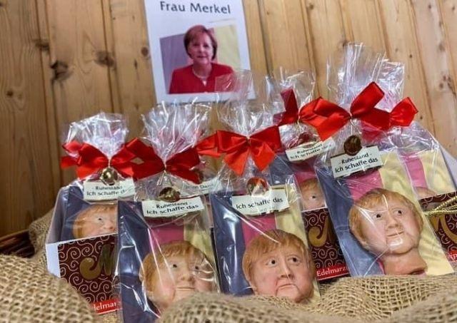 Печенье с лицом Ангелы Меркель