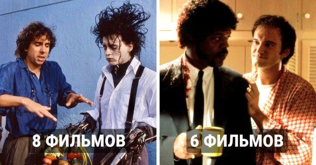 Режиссеры и их любые актеры, которые играют почти в каждом их фильме