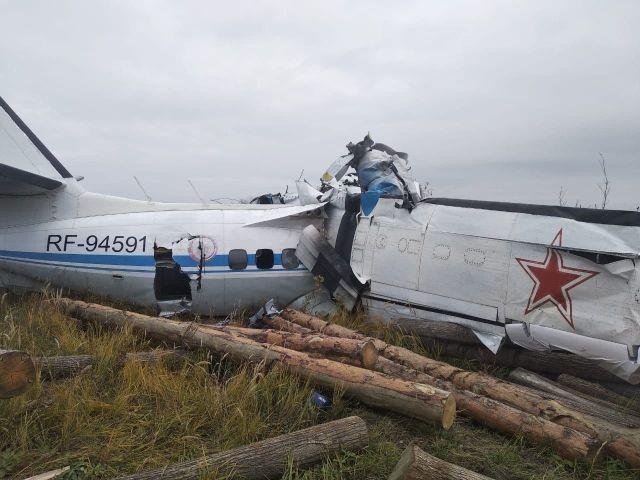 Крушение самолета в Татарстане