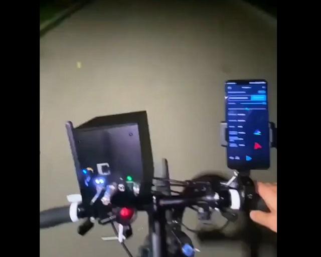 лазерный GPS-навигатор