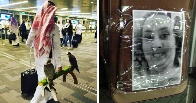 Забавные наблюдения людей в аэропортах