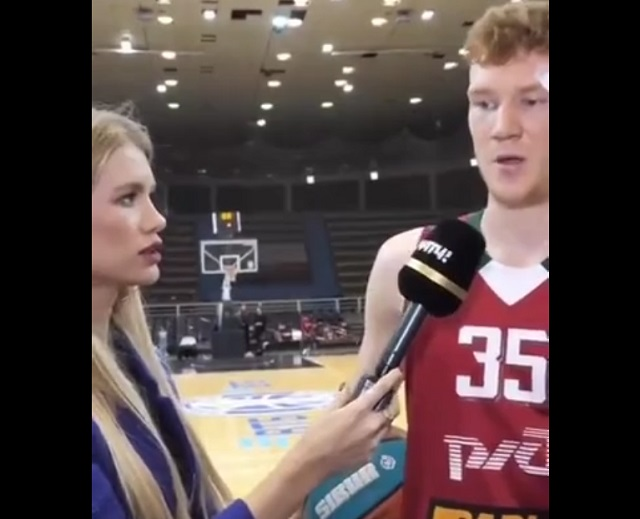 интервью с баскетболистом
