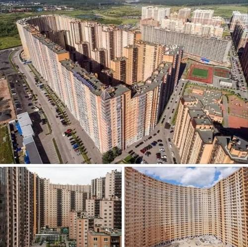 Иностранцы увидели гигантскую многоэтажку в Кудрово и ужаснулись