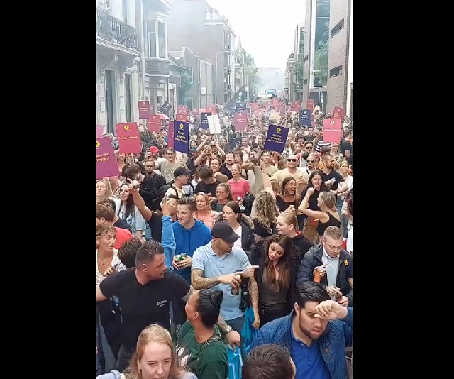 датчане протестуют против ковид-паспортов