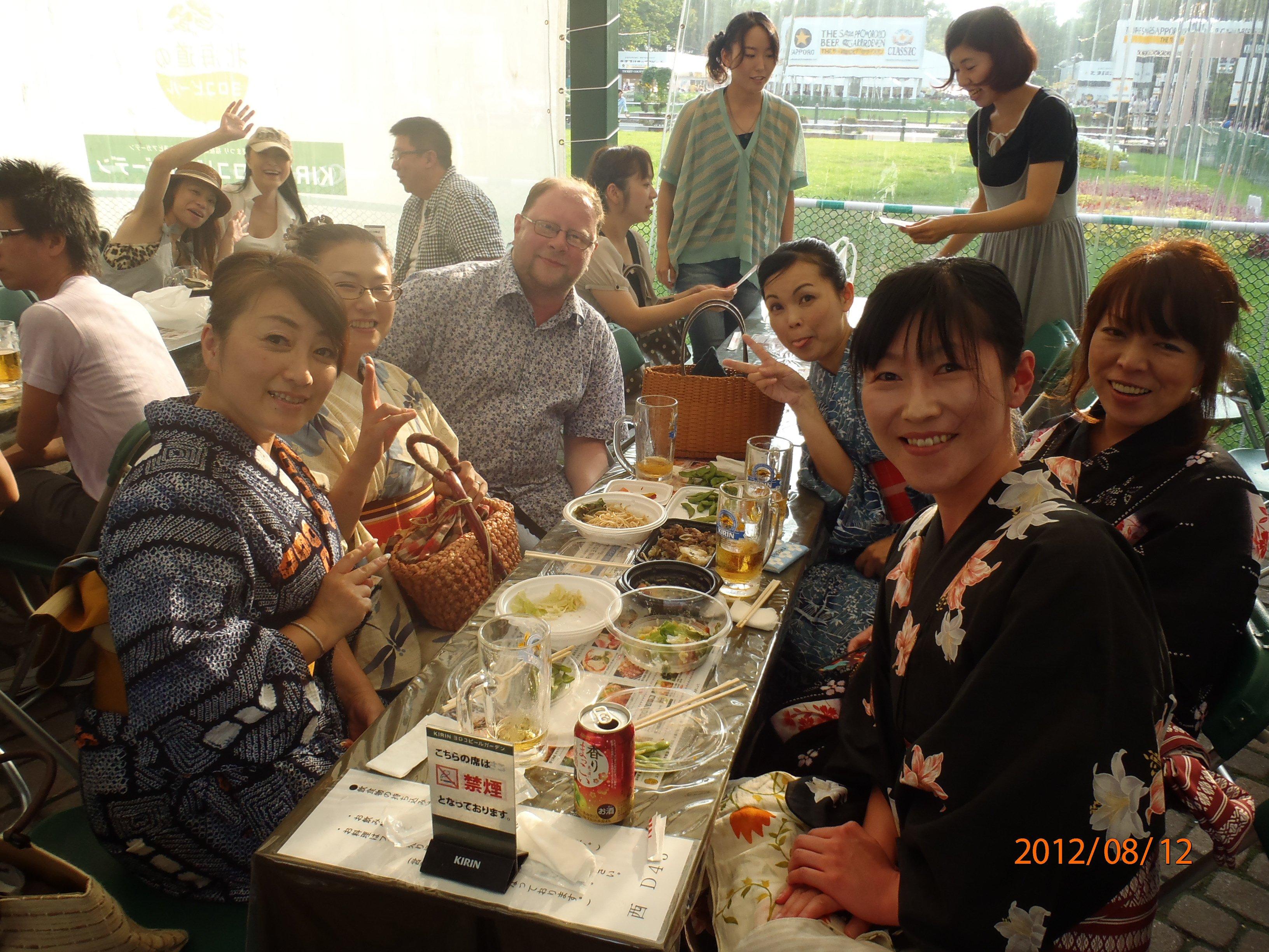 Пивной фестиваль в Саппоро