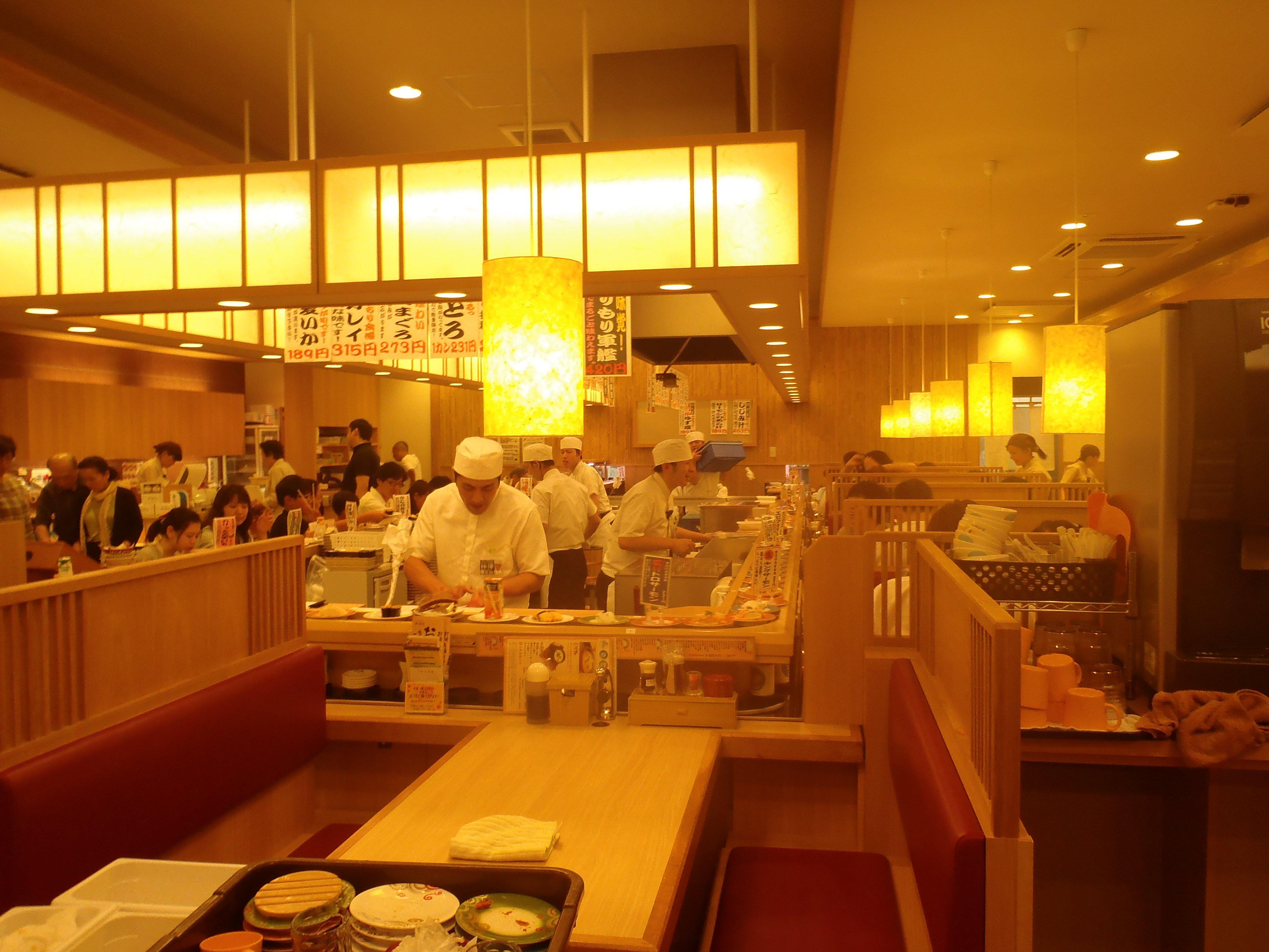 Суши-бар в Саппоро