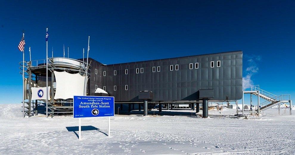 Станция на южном полюсе