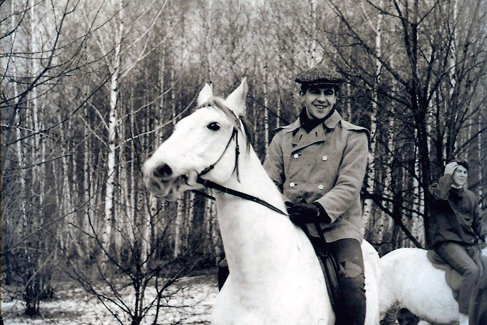 Сергей Лавров в молодости