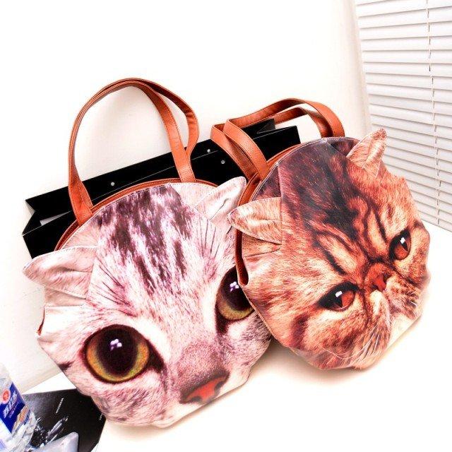 Косметичка в виде кошки